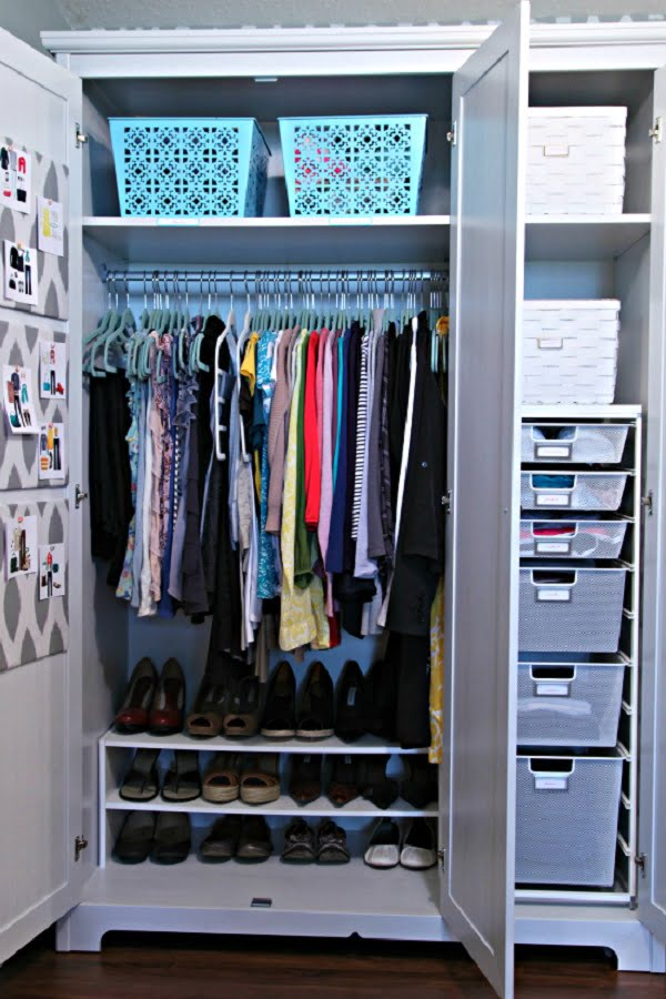 How to do  closet reorganizing