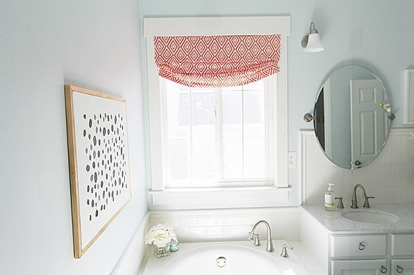 How to make  faux relaxed Roman shades