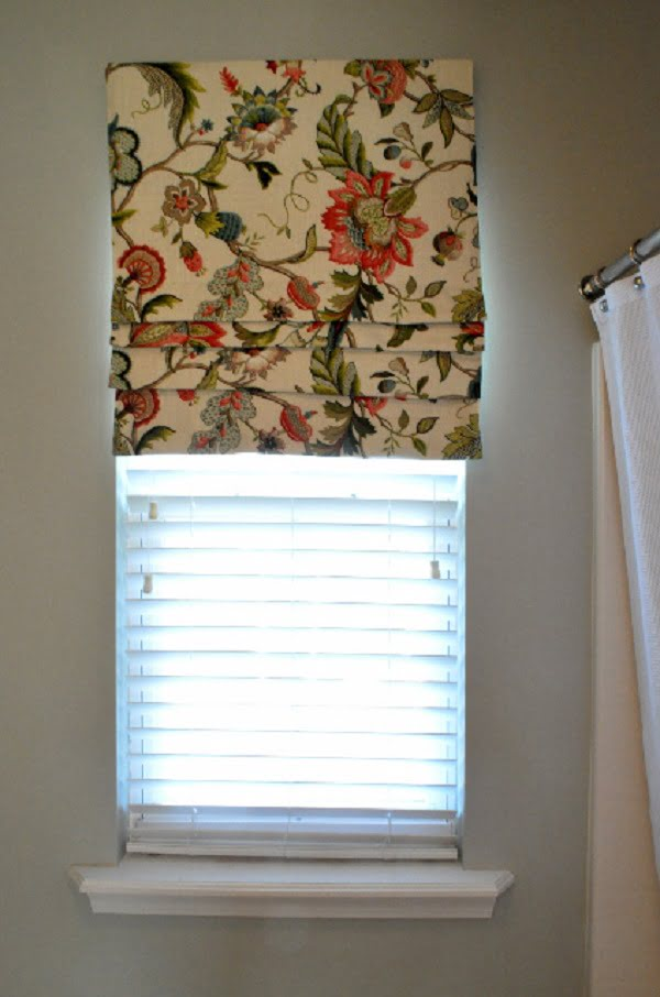 How to make  fixed Roman shades