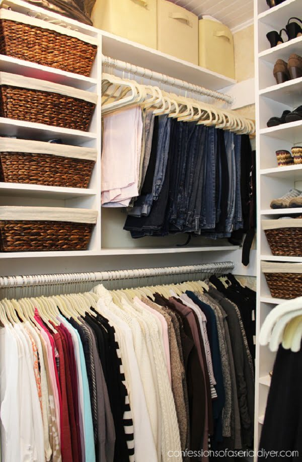 How to do a  large closet makeover
