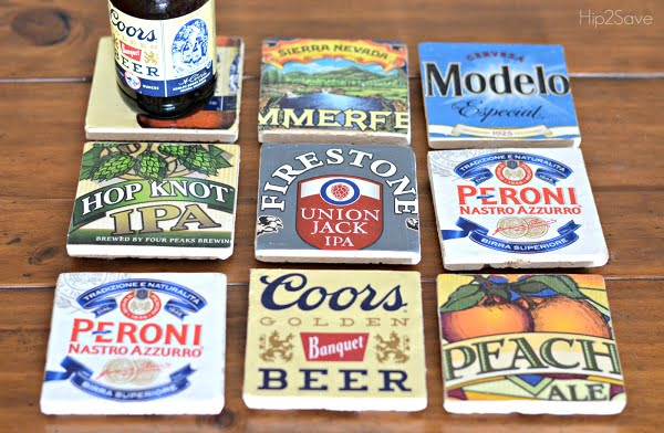 How to make  beer coasters