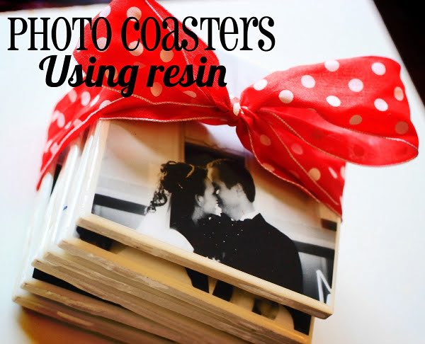 How to make  photo tile coasters