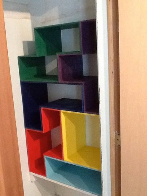 How to build a  Tetris shaped closet