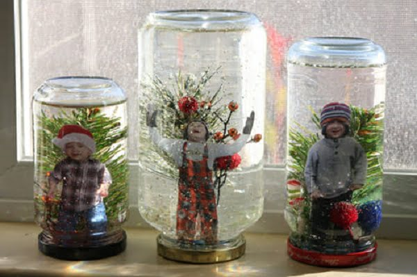 How to make a Family-Inspired  snow globe