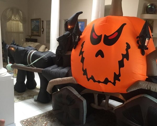 Grim reaper Halloween inflatable
