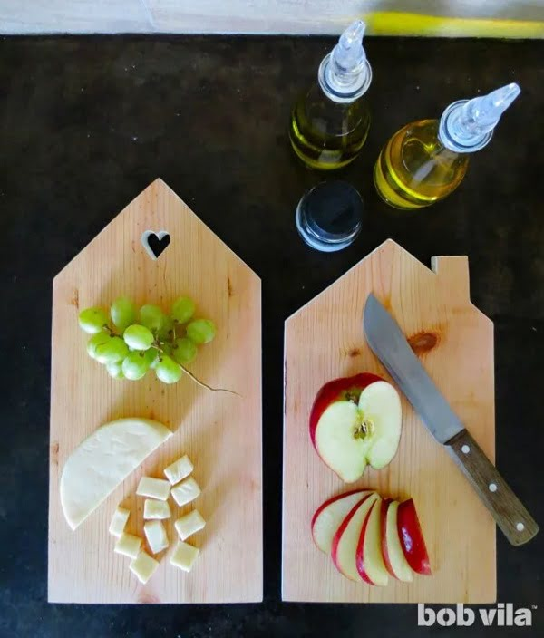 How to make a homemade DIY cutting board #DIY #homedecor