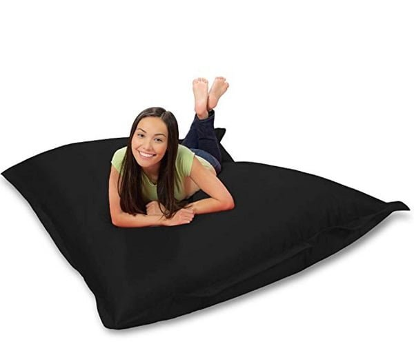 Huge bean bag floor pillow