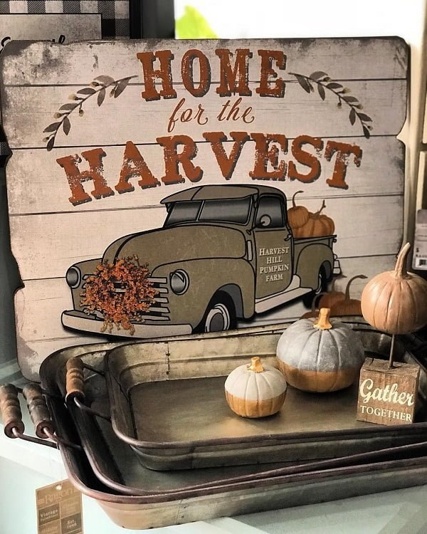 Thanksgiving pallet art ideas