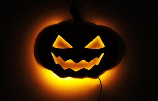 Jack O'Lantern Halloween night light