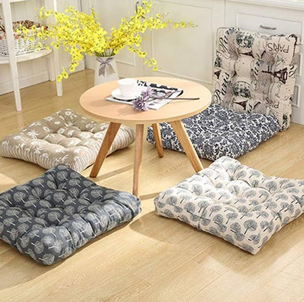 Japanese floor pillow cushion