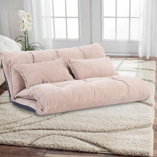 fabric modern floor sofa