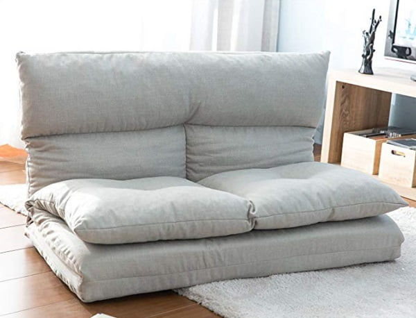 Merax fabric modern floor sofa