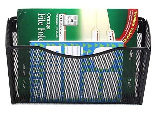 Pocket mesh wall organizer