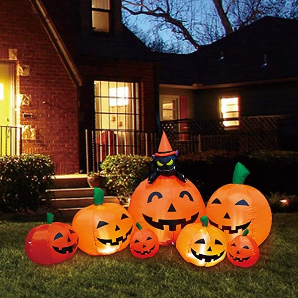 Pumpkin family Halloween inflatable