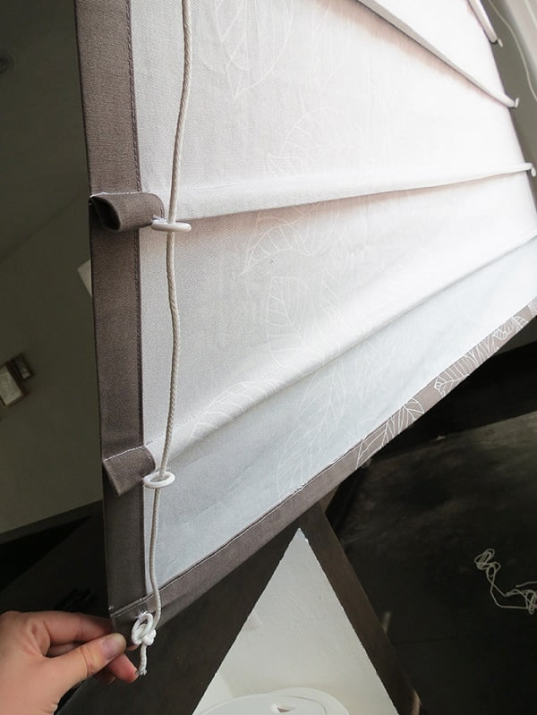 How to make  sew Roman shades