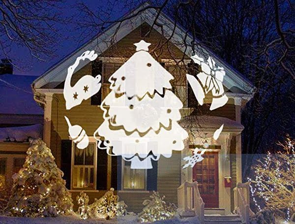 3D Pattern Christmas Light Projector