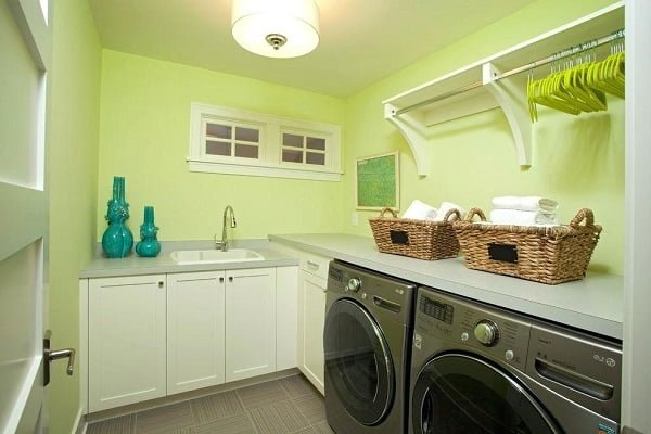 Drying room laundry room #organization