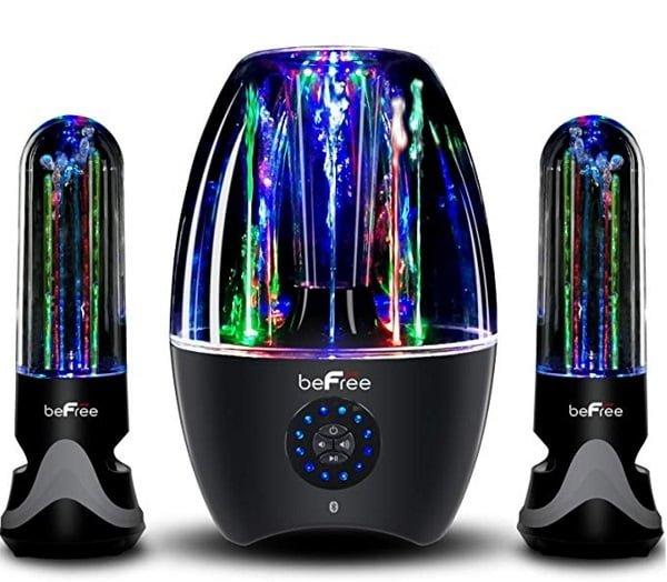 BeFree Sound dancing water speakers