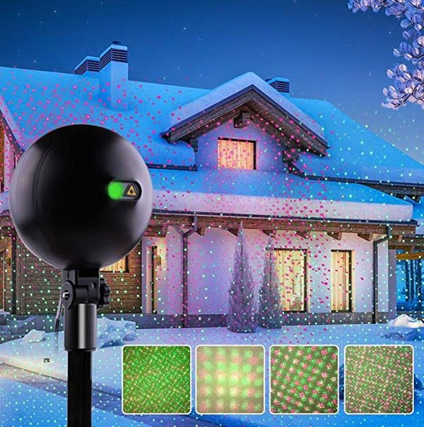 Christmas Laser Light Projector