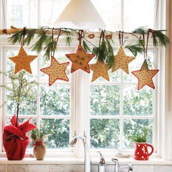 Cute stars  window decorations