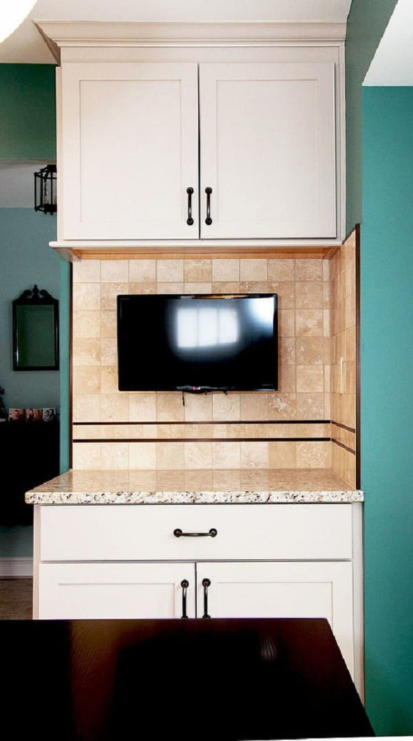 Contemporary kitchen shaker cabinets #homedecor