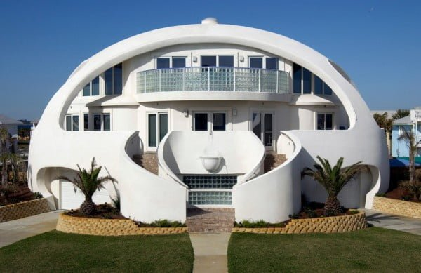 Cool dome house