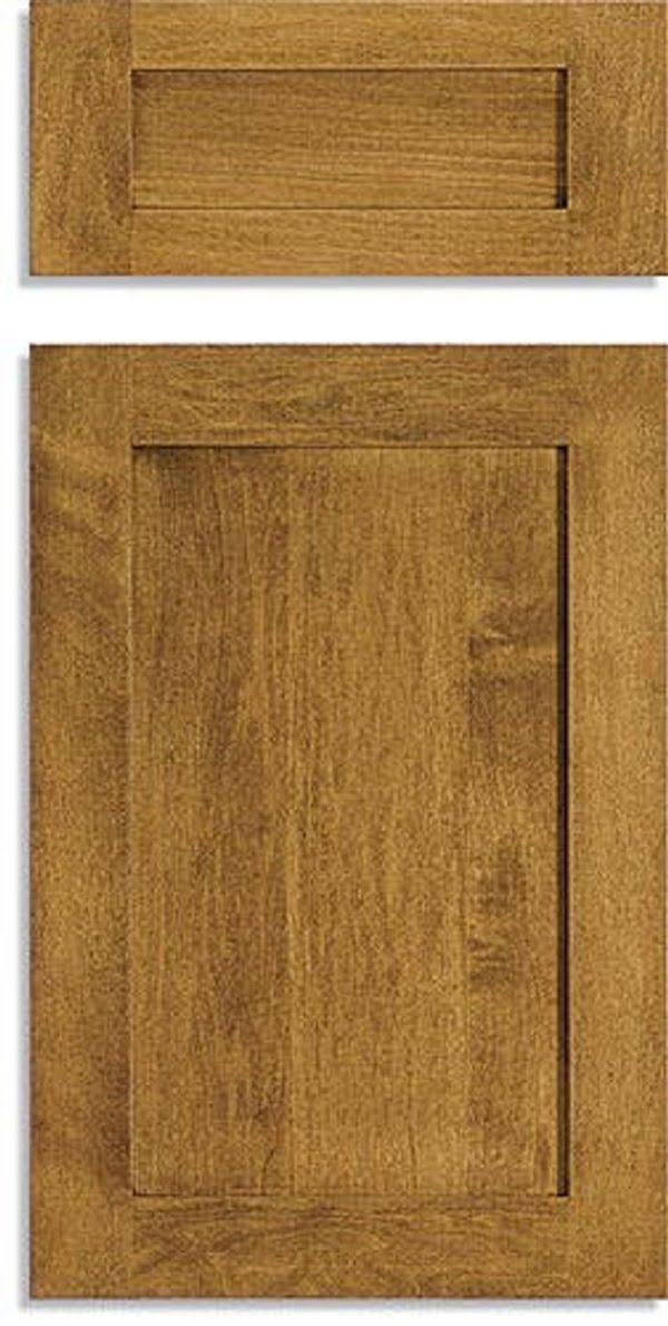 Custom shaker cabinet doors