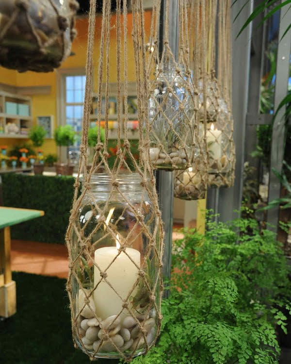 How to make  knotted hanging lanterns