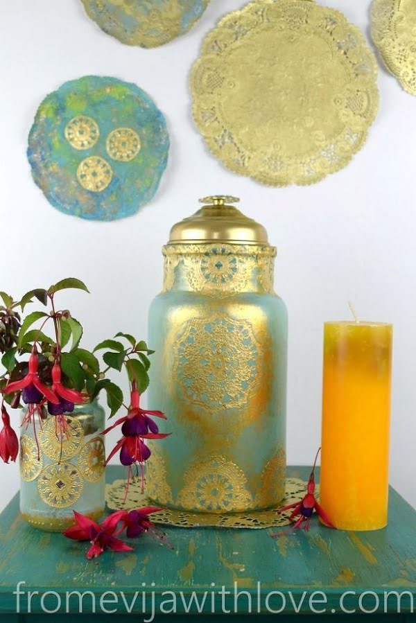 How to make  Moroccan inspired lanterns