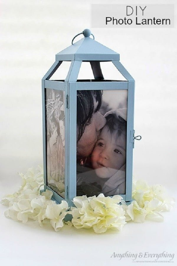 How to make  photo lanterns