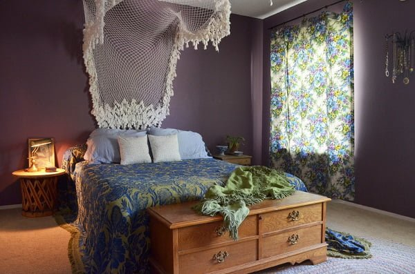 Eclectic chic boho bedroom
