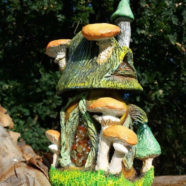 Fairy House of Mushrooms