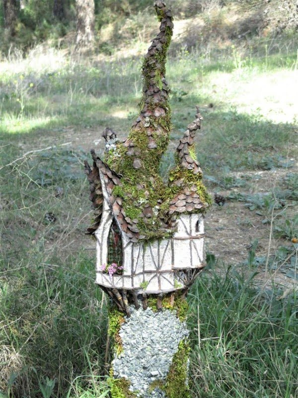 Rustic Woodland Fairy House
