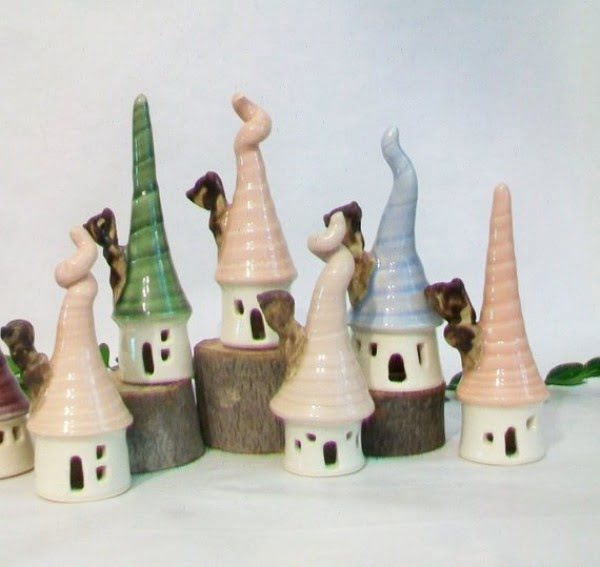 Garden Fairy Mini Houses