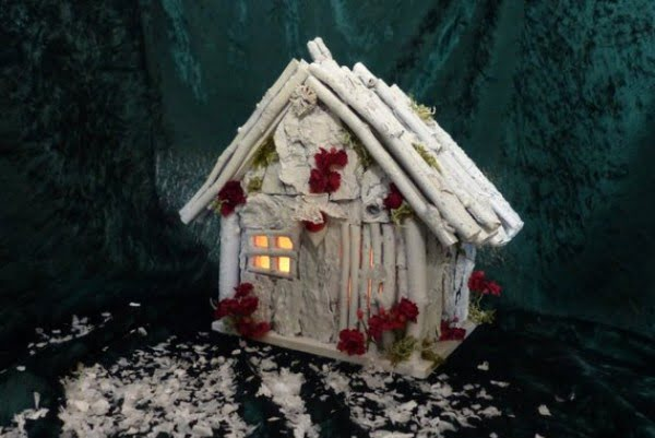 Lighted Fairy House