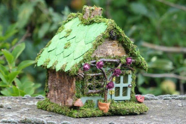 Green Fairy House