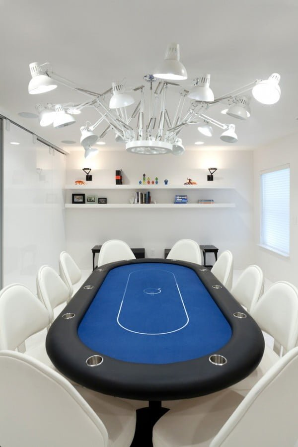 Futuristic Game Room Decor Idea #homedecor