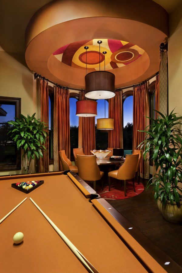 Tuscan Game Room