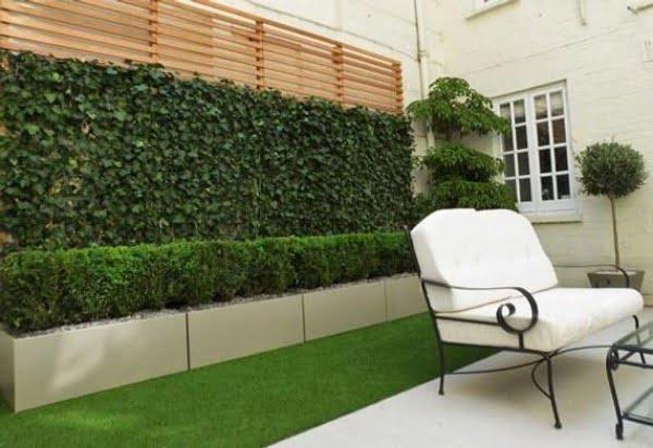 Artificial Ivy Trellis Garden Fence