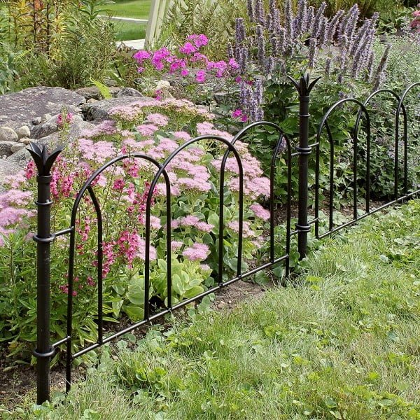 Flower Garden Border Fence #homedecor
