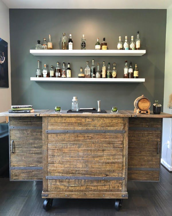34 Diy Home Bar Ideas And Designs With