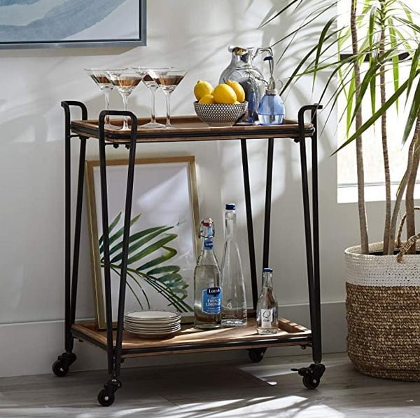 Industrial tea cart