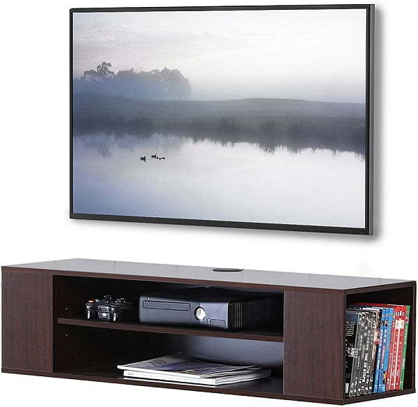 media console wall mount