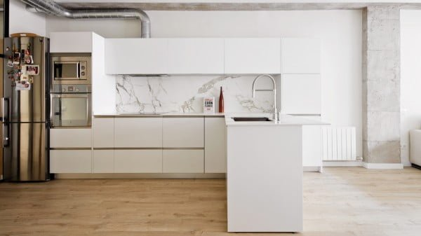 Industrial Minimalist Kitchen Design