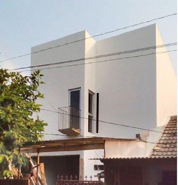 White Cube Minimalist House