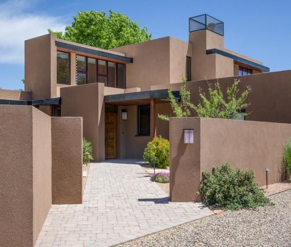 Stucco Minimalist House