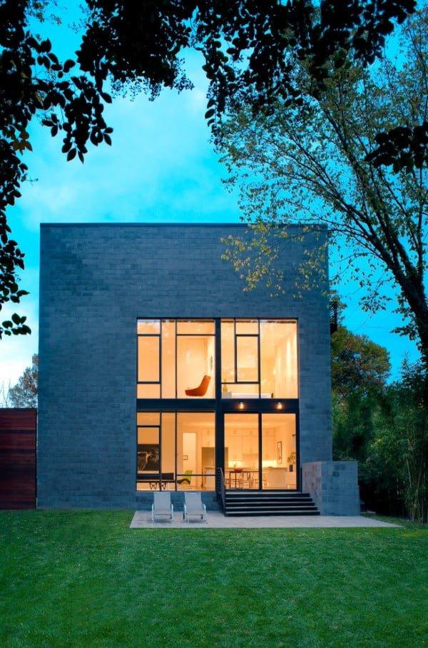 Brick Cube Minimalist House