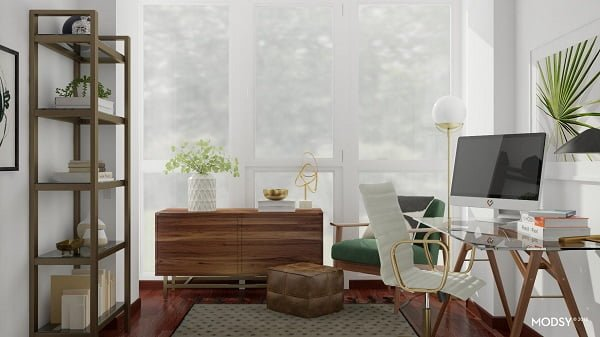 Modsy Home Office Design 2