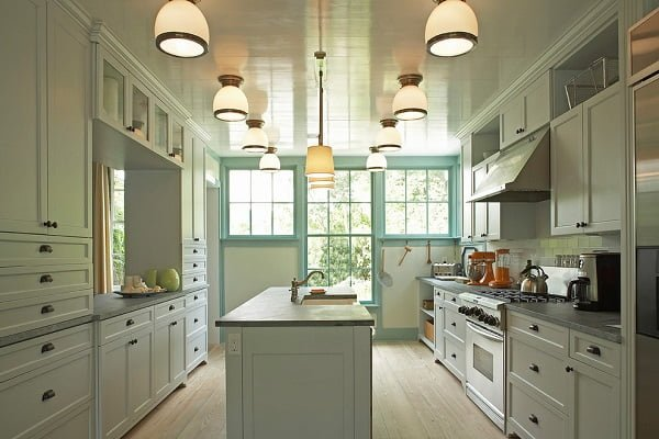 Open bottom farmhouse lighting fixtures #homedecor