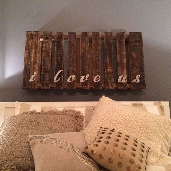 How to make  pallet board string art